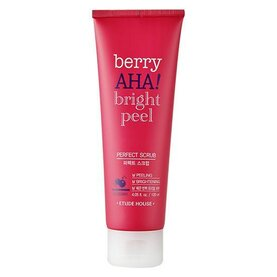 Etude House - Berry AHA bright peel perfect scrub, почистваща скраб за лице