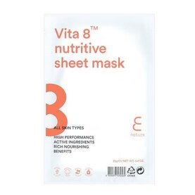 ENATURE Vita 8 Nutritive Sheet Mask, шийт-маска за лице