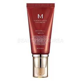 BB крем за лице Missha M Perfect Cover BB Cream SPF42/PA+++ #23 Natural Beige, 50ml