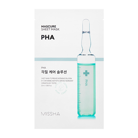 [Missha] Mascure Peeling Solution Sheet Mask - PHA, маска за лице с PHA