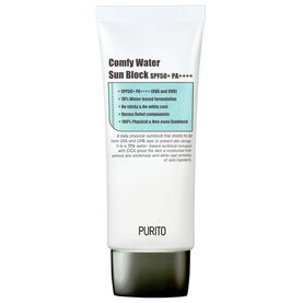 [PURITO] Comfy Water Sun Block SPF50+ PA++++, слънцезащитен крем, 60 ml