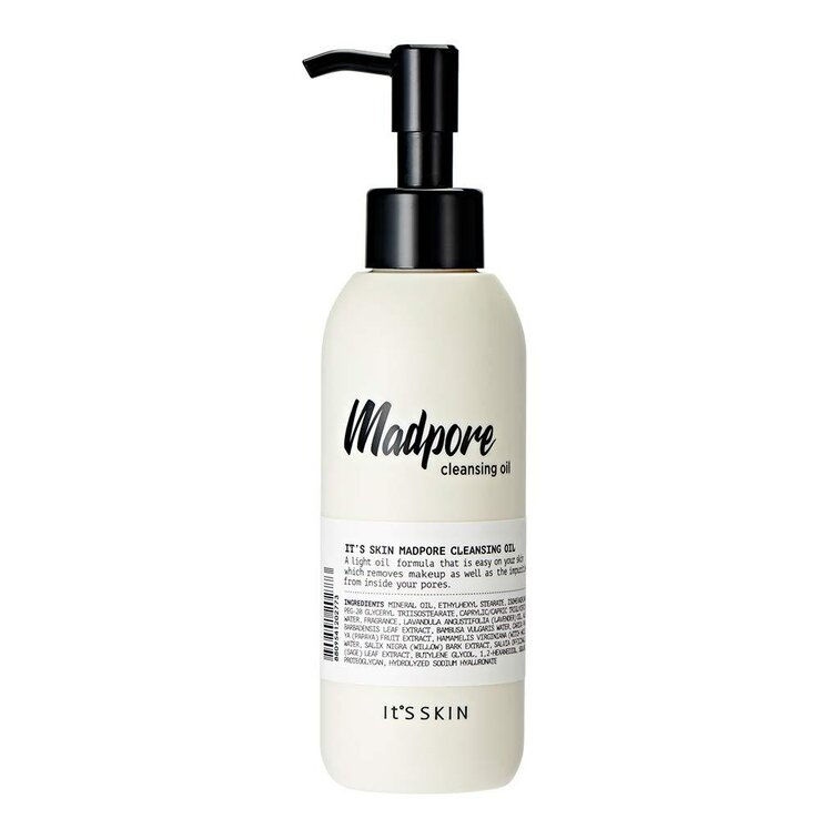 It's Skin - Madpore Cleansing Oil, почистващо олио за лице, 155 ml