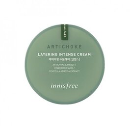 [innisfree] Artichoke layering intense cream, крем за лице с артишок