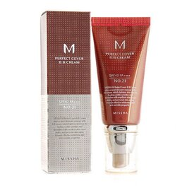 BB крем за лице Missha M Perfect Cover BB Cream SPF42/PA+++ #21 Light Beige, 50ml